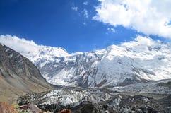 Montagnes de Pamir Images stock