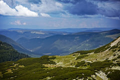 Montagnes de Parang Photo libre de droits