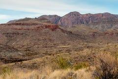 Montagnes de parc national de grande courbure Photographie stock