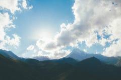 Montagnes de PAYSAGE Images libres de droits