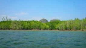 Montagnes de Phuket Images libres de droits