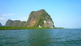 Montagnes de Phuket Photographie stock