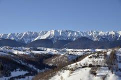 Montagnes de Piatra Craiului Photographie stock