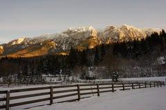 Montagnes de Piatra Craiului images stock
