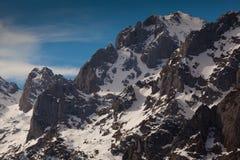 Montagnes de Picos de Europa Photos stock