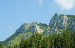 Montagnes de Pietrele Albe Image libre de droits