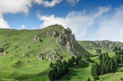 Montagnes de plateau de Lago-naki photographie stock