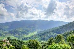 Montagnes de Pokhara Images stock