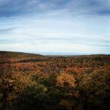Montagnes de porc-épic, Michigan Photos stock