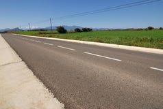 Montagnes de prairie de rue Photos libres de droits