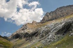 Montagnes de Pyrénées Images stock