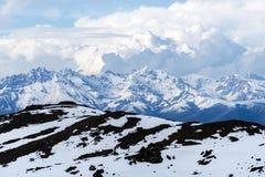 Montagnes de Qilan Photographie stock