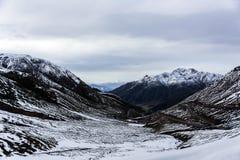 Montagnes de Qilan Images stock