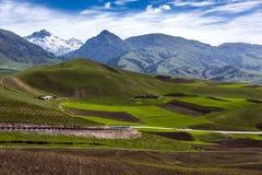 Montagnes de Qilan Image stock