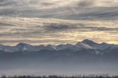 Montagnes de Retezat Images stock