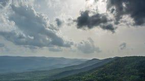 Montagnes de Ridge bleu image stock