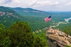 Montagnes de roche de cheminée Photos libres de droits