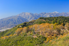 Montagnes de San Bernardino Image libre de droits