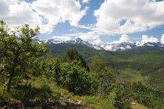 Montagnes de San Juan Photo libre de droits