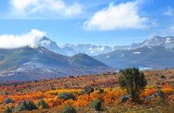 Montagnes de San Juan Photos libres de droits