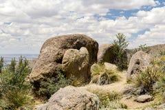 Montagnes de Sandia à Albuquerque, Nouveau Mexique Photo stock