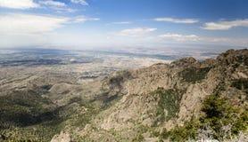 Montagnes de Sandia à Albuquerque, Nouveau Mexique Photo libre de droits