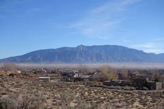 Montagnes de Sandia Photo stock