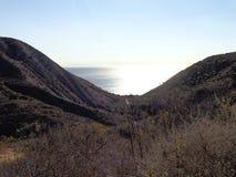 Montagnes de Santa Monica Photos stock