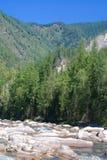 Montagnes de Sayan Photographie stock