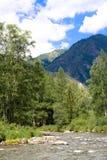 Montagnes de Sayan Photographie stock libre de droits