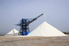 Montagnes de sel de mer image libre de droits