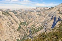 Montagnes de Sierra Nevada en Californie, Etats-Unis Photos libres de droits