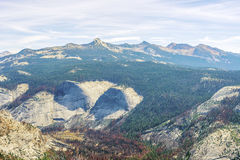 Montagnes de Sierra Nevada en Californie, Etats-Unis Photo libre de droits