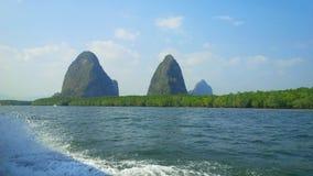 Montagnes de silicium Photo libre de droits