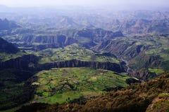 Montagnes de Simien Photos libres de droits