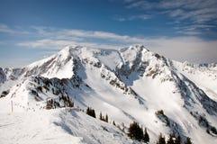 Montagnes de ski Photo stock