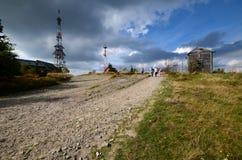 Montagnes de Skrzyczne Beskidy Photo libre de droits