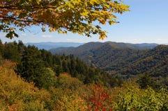 Montagnes de Smokey images libres de droits