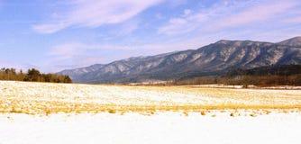 Montagnes de Smokey photographie stock libre de droits