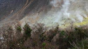 Montagnes de soufre au Japon Images libres de droits