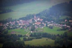 Montagnes de Stolowe en Pologne Images stock