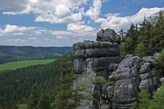 Montagnes de Tableau photographie stock