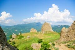 Montagnes de taille image stock