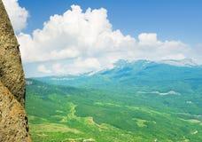 Montagnes de taille photo stock