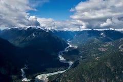 Montagnes de Tantalus Photos libres de droits