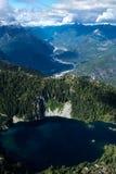 Montagnes de Tantalus Image stock