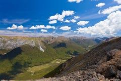 Montagnes de Tasman de Kahurangi NP, Nouvelle Zélande Photos stock