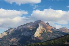 Montagnes de Tatra Photographie stock libre de droits