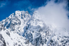 Montagnes de Tatra photo stock