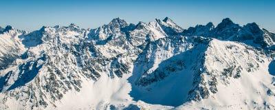 Montagnes de Tatra Photos libres de droits